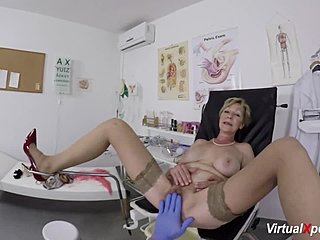 Masturbation, Mature Vaginal masturbation Cum shot Vaginal sex High heels Hd