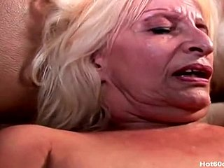 Granny, Furry, Old, Mommy, Blonde, Cougar, Fucking