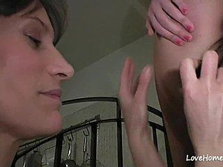 Lesbiske har ægte sex