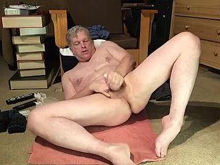 Socks, Masturbation, Jerking off, Old, Naked, Legs, Daddy