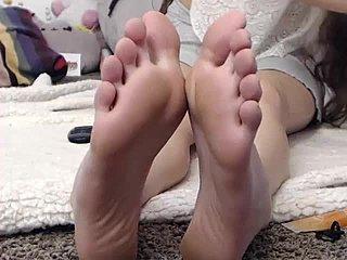 Milf fødder pornovideoer