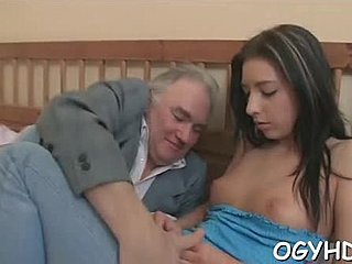 Blowjob, Brunette, Teen, Young, Old, Russian, Hardcore