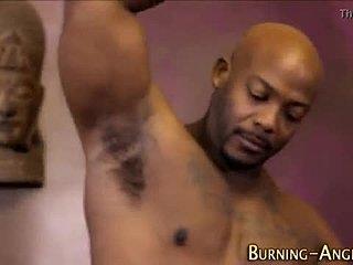 Ebony booty video