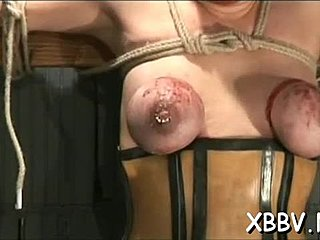 Torture, Hardcore, Bound, Bdsm, Nipples, Doggystyle, Sucking