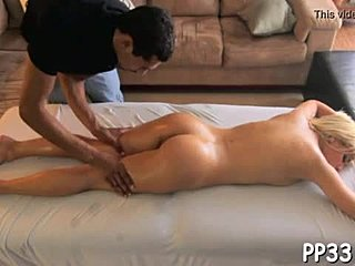 Massage, Sex, Sucking, Couple, Blowjob, Oiled, Teen