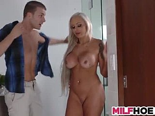 Mother-in-law, Mommy, Teen, Young, Group, 3 some, Milf