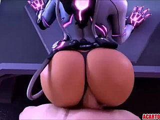 Compilation, Cartoon, Ass, Big tits, Big ass, Tits Toon