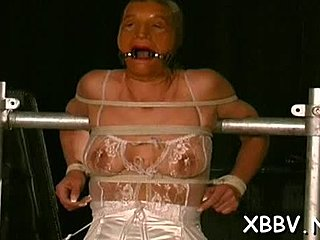Torture, Tight, Bdsm, Nipples, Doggystyle, Sucking, Bound