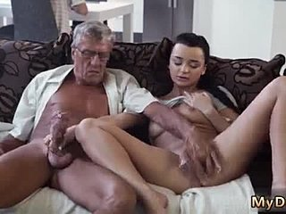Lesbian college girl at home