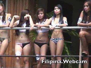 Filipina neuken door Big Cock zwarte man gedwongen sex