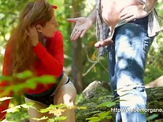 BDSM forest action with british femdom milf bdsm, βρετανική, αφέντρα.