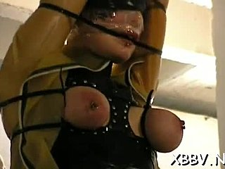 Rough, Bdsm, Nipples, Sucking, Bound, Naked, Pussy