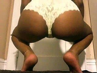Extrem große Arsch-Pornos