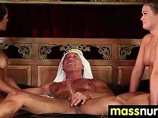 nuru gel massage bangkok nudist familj