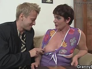 Riding, Grandmother, Young, Old, Bitch, Mommy, Mature