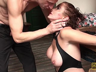Rough, Ass, Bdsm, Swallow, Old, Domination, Tits