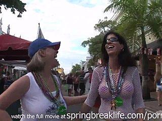 Spring break girls masterbating