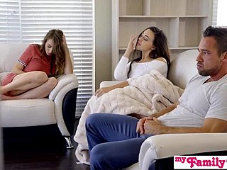 Ass, Group, Not sister, 3 some, Drilled, Lick, Bent over