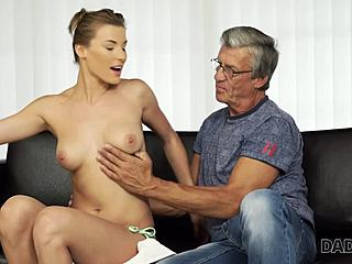 Boobs, Assfucking, Fingering, Sucking, Huge, Mommy, Old man