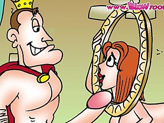 Cartoon groГџen Boob-Sex