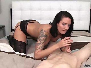 musta Nylon porno