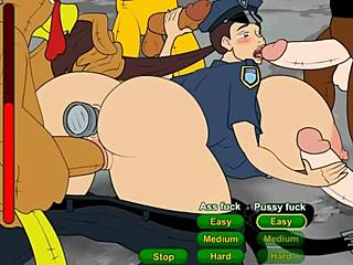 Ass, Assfucking, Hentai, Office, Melons, Cartoon, Tits