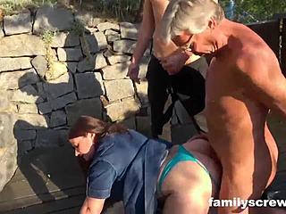 Familie Therapie Creampie Pov
